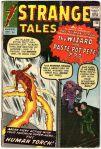 Strange Tales #110, 9d Pence Price Variant
