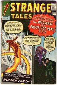 Strange Tales #110 Pence Price Variant