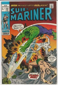Sub-Mariner #34 Pence Price Variant