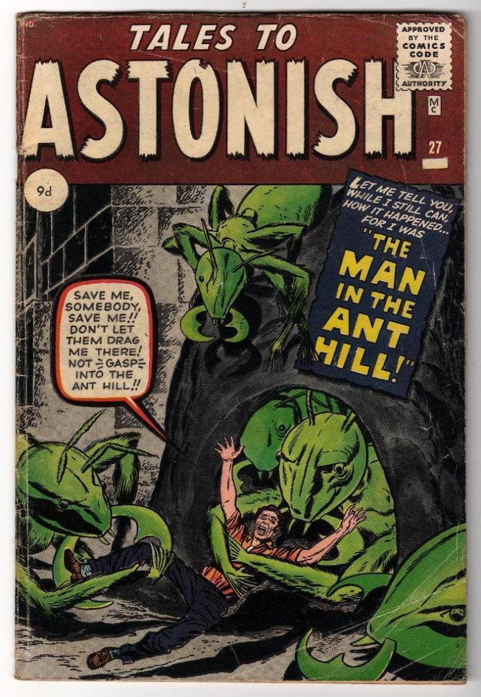 Tales to Astonish #27, 9d Pence Price Variant