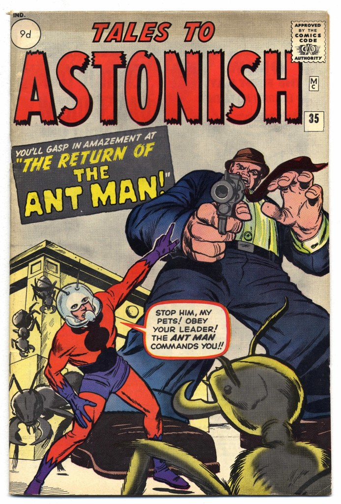 Tales to Astonish #35, 9d Pence Price Variant