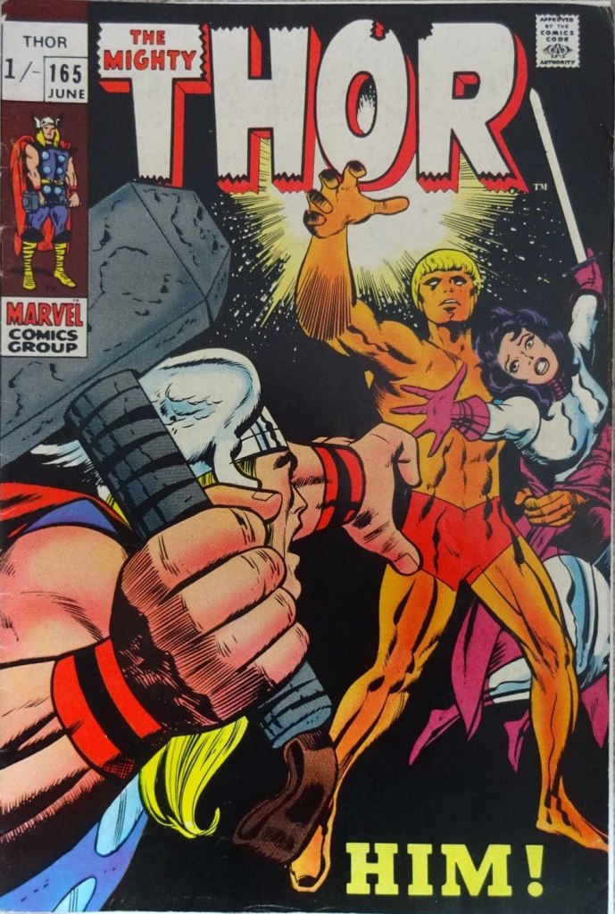 Thor #165, 1/- Pence Price Variant