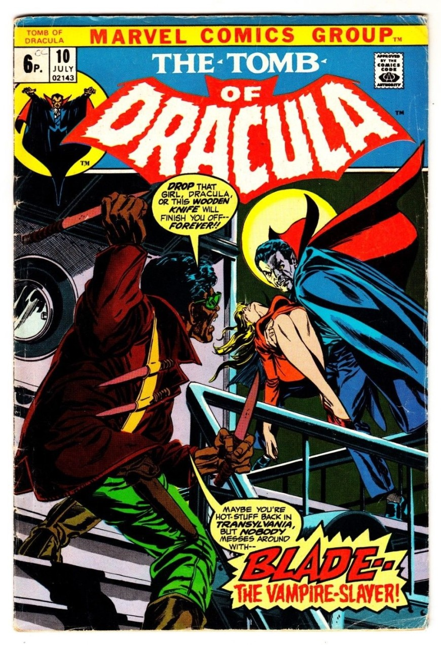 Tomb of Dracula #10, 6p Pence Price Variant