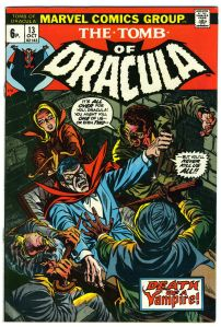 Tomb of Dracula #13 Pence Price Variant