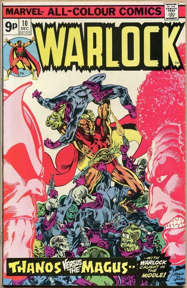 Warlock #10, 9p Pence Price Variant