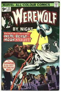 Werewolf By Night #33 Pence Price Variant