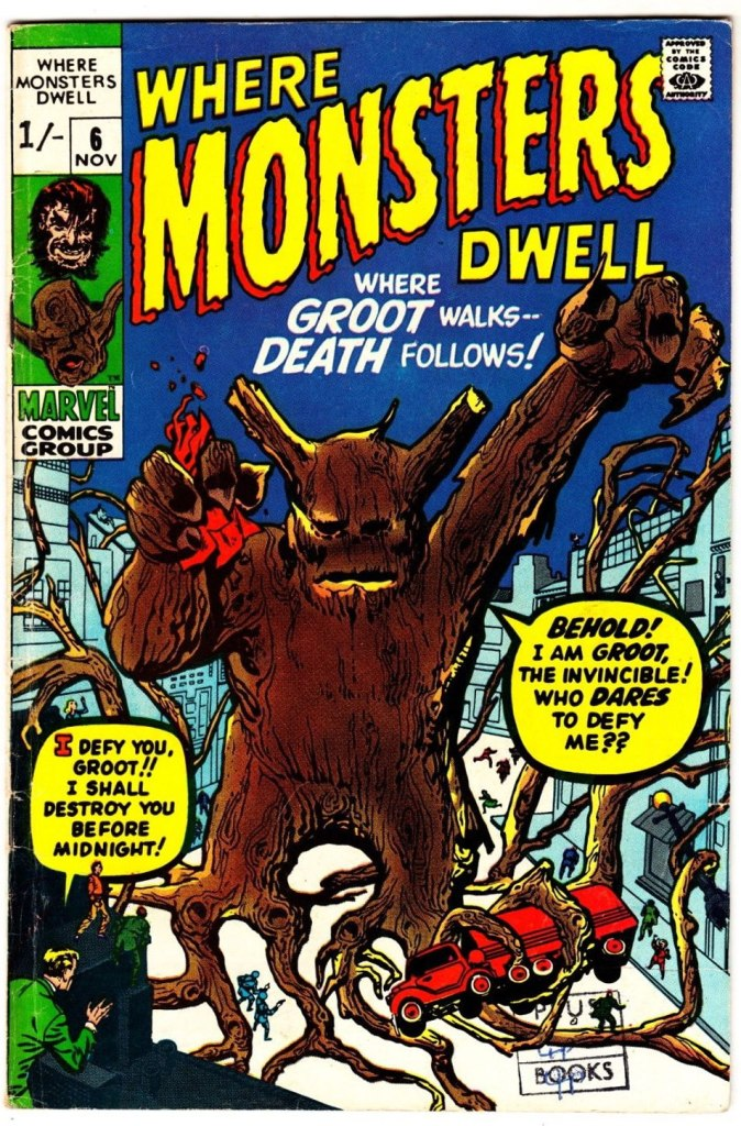 Where Monsters Dwell #6, 1/- Pence Price Variant