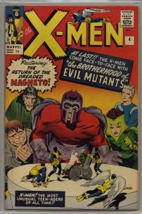 X-Men #4 Pence Price Variant