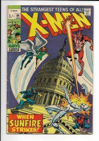 X-Men #64 Pence Price Variant