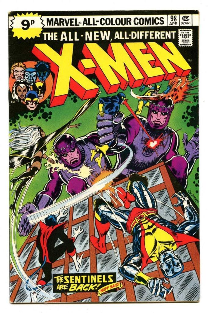 X-Men #98, 9p Pence Price Variant