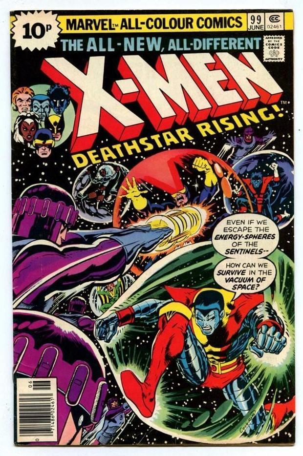 X-Men #99, 10p Pence Price Variant