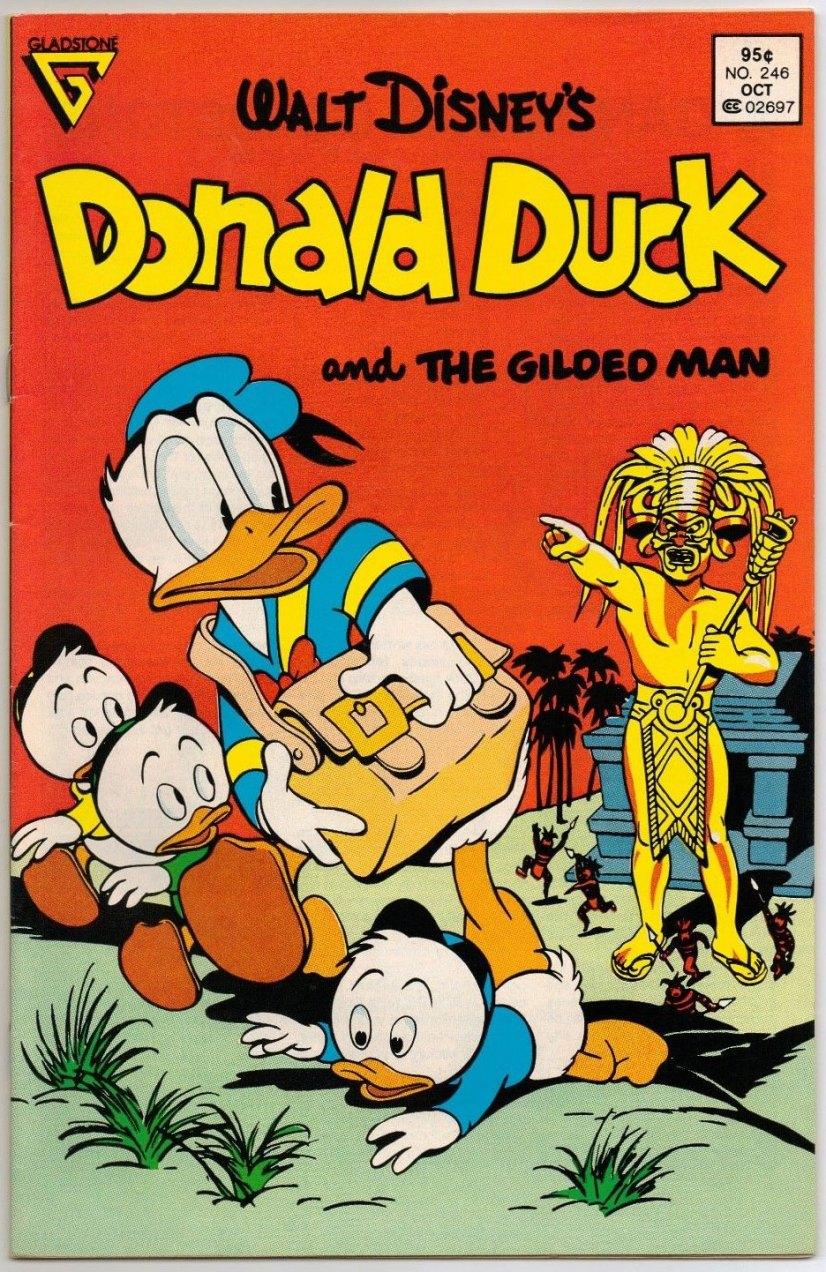 Donald Duck #246 - 95¢ Newsstand