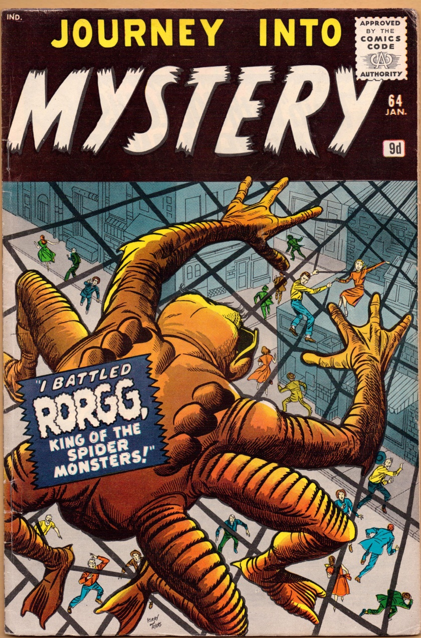 Journey Into Mystery #64, 9d Pence Price Variant