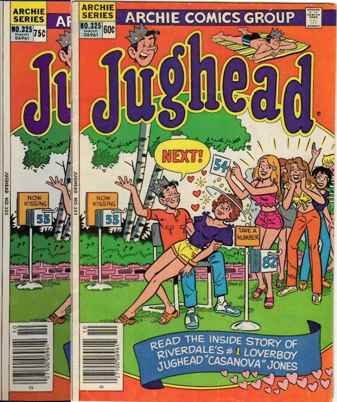 Jughead #325: Two types, both newsstand
