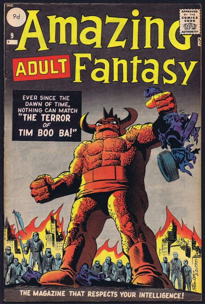 Amazing Adult Fantasy #9, 9d Pence Price Variant
