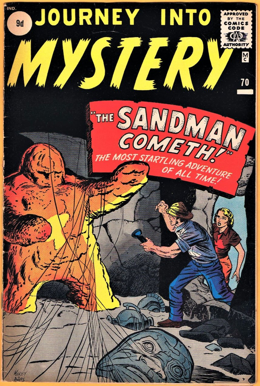 Journey Into Mystery #70, 9d Pence Price Variant
