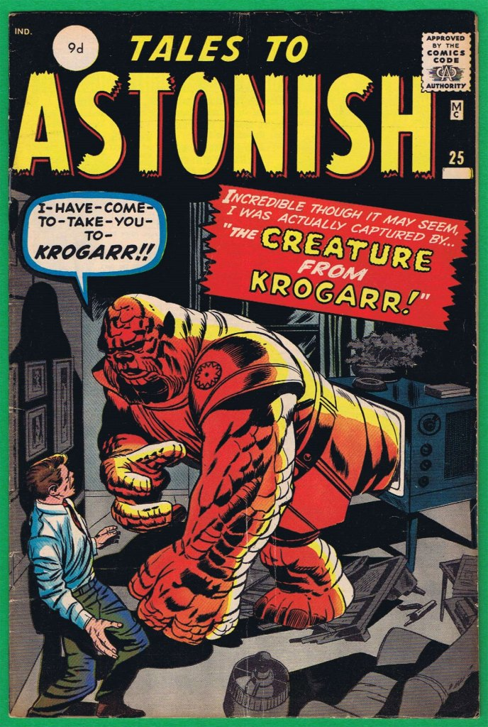 Tales to Astonish #25, 9d Pence Price Variant