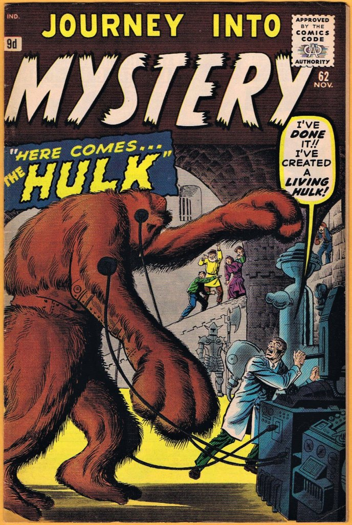 Journey Into Mystery #62, 9d Pence Price Variant