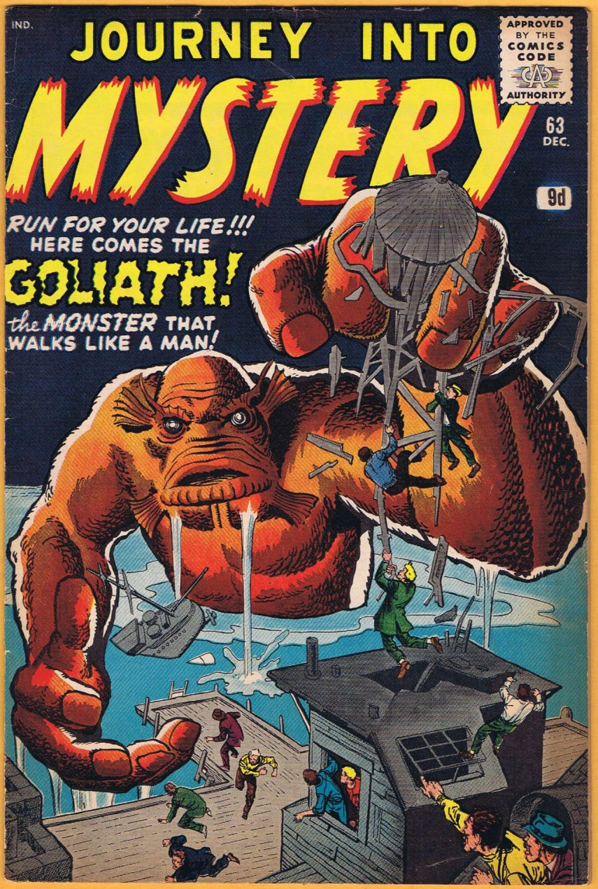 Journey Into Mystery #63, 9d Pence Price Variant