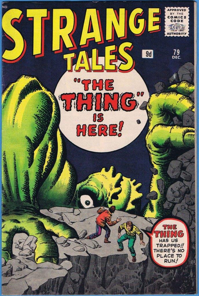 Strange Tales #79, 9d Pence Price Variant