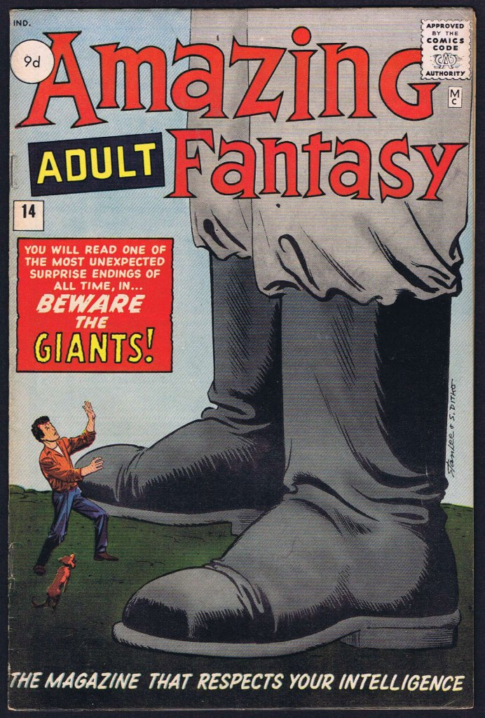 Amazing Adult Fantasy #14, 9d Pence Price Variant