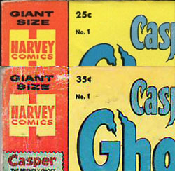 Harvey 35 cent price variants intro