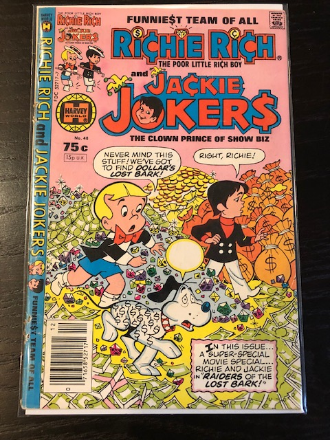 Richie Rich and Jackie Jokers #48, 75c