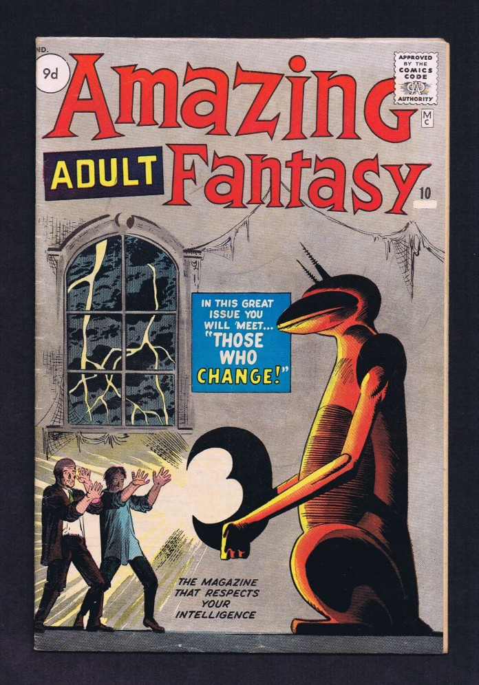 Amazing Adventures #10, 9d Pence Price Variant