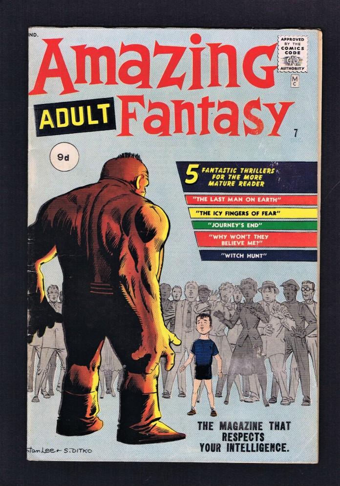 Amazing Adventures #7, 9d Pence Price Variant