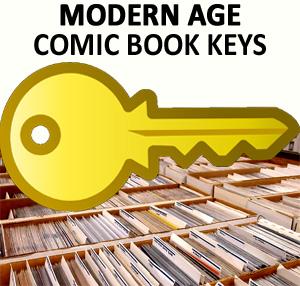 Modern age comic books key issues