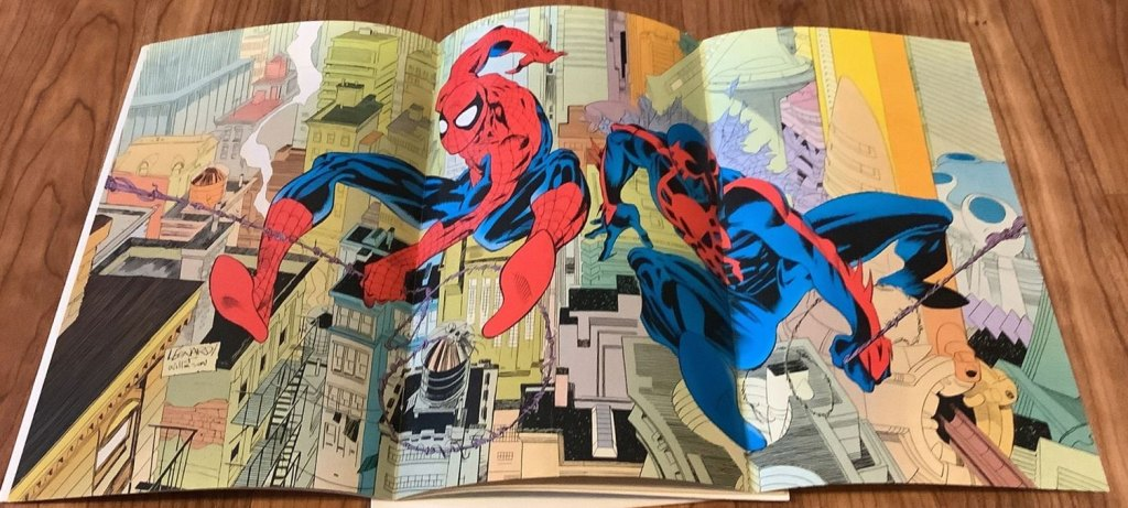 Three page Spider-Man 2099 poster appears a full month earlier than ASM 365